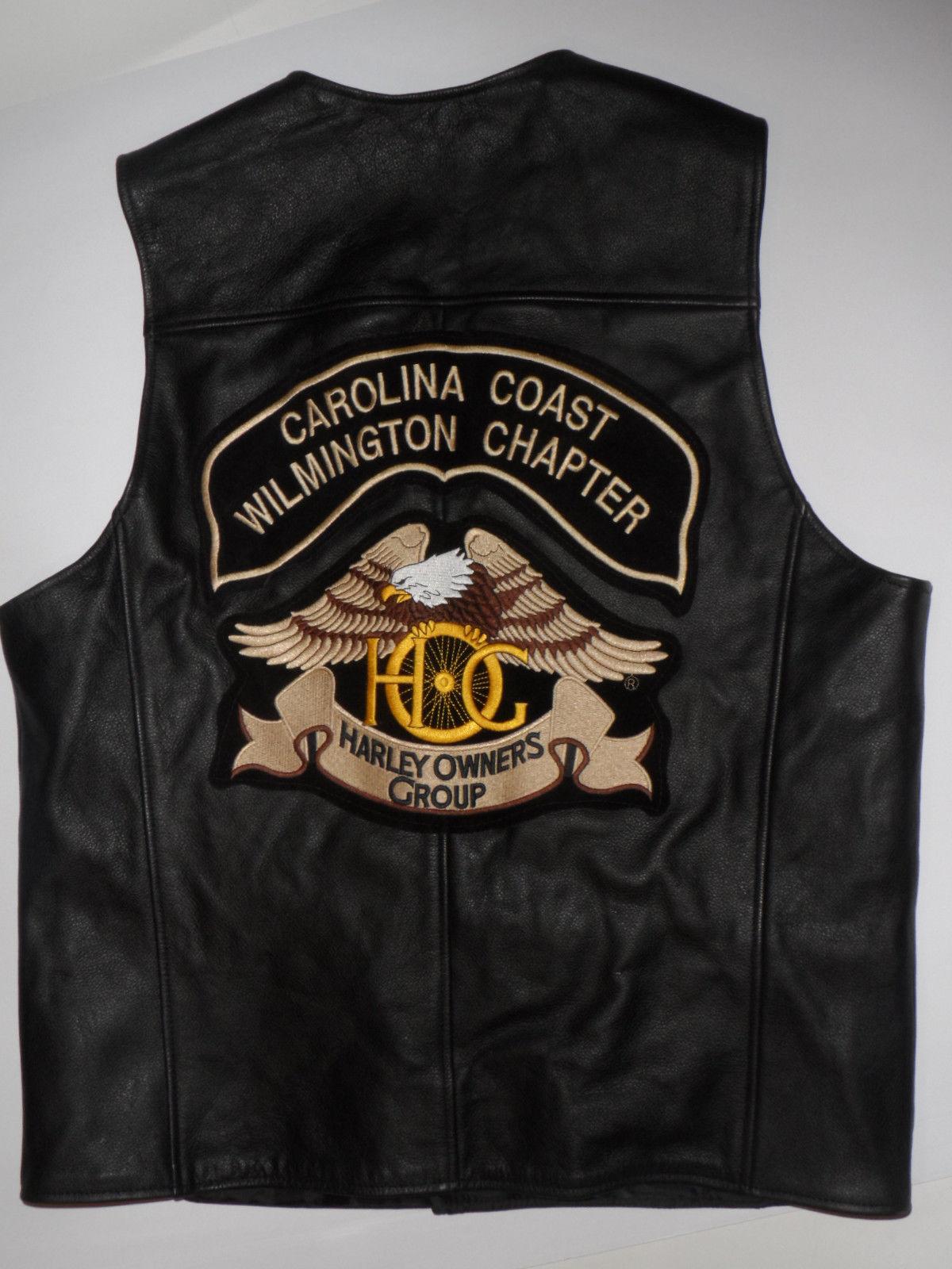Mens Harley Davidson Leather Vest