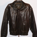 Banana Republic Brown Leather Jacket