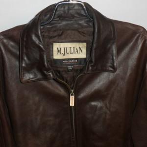 M Julian Wilsons Brown Leather Jacket
