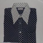Vintage 1970s Polka Dot Shirt