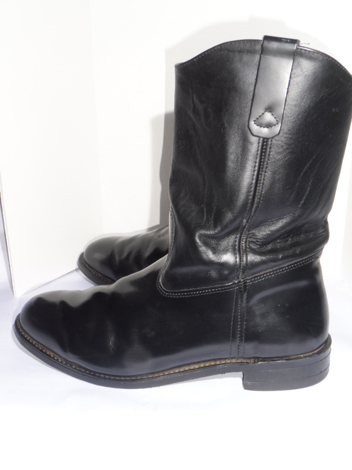 s black motorcycle boots classic vintage apparel