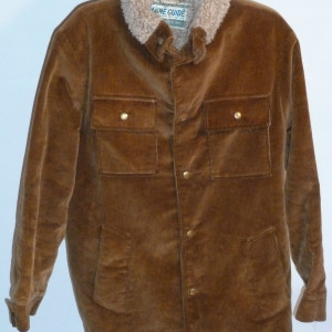 VINTAGE 1960s MAINE GUIDE CORDUROY JACKET