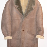Norm Thompson sheepskin coat