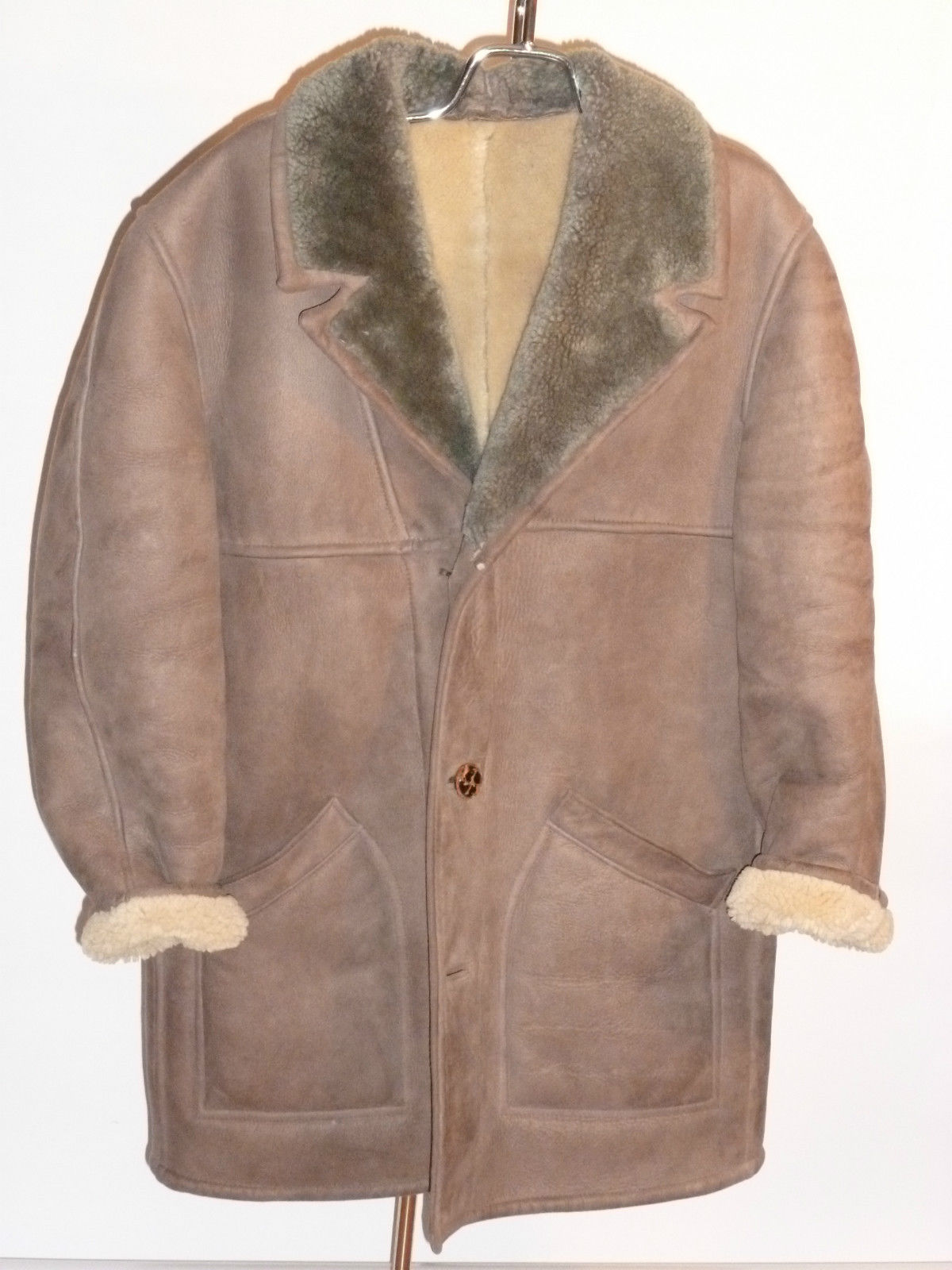 Norm Thompson Sheepskin Coat | Classic Vintage Apparel