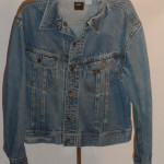 Vintage 1960s Lee Riders Denim Jean Jacket