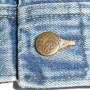 Vintage 1960s Lee Riders Denim Jean Jacket sleeve