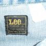 Vintage 1960s Lee Riders Denim Jean Jacket tag