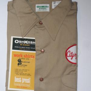 Vintage 1965 Oshkosh Work Shirt