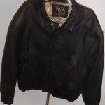 Vintage 1980s Reed Black Leather Jacket
