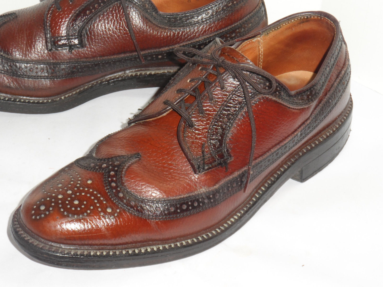 Dexter Men S Black Wingtip Shoes
