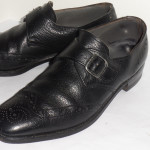 Vintage Nettleton Leather Wingtip Dress Shoes