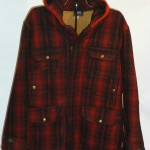 Plaid Woolrich wool jacket