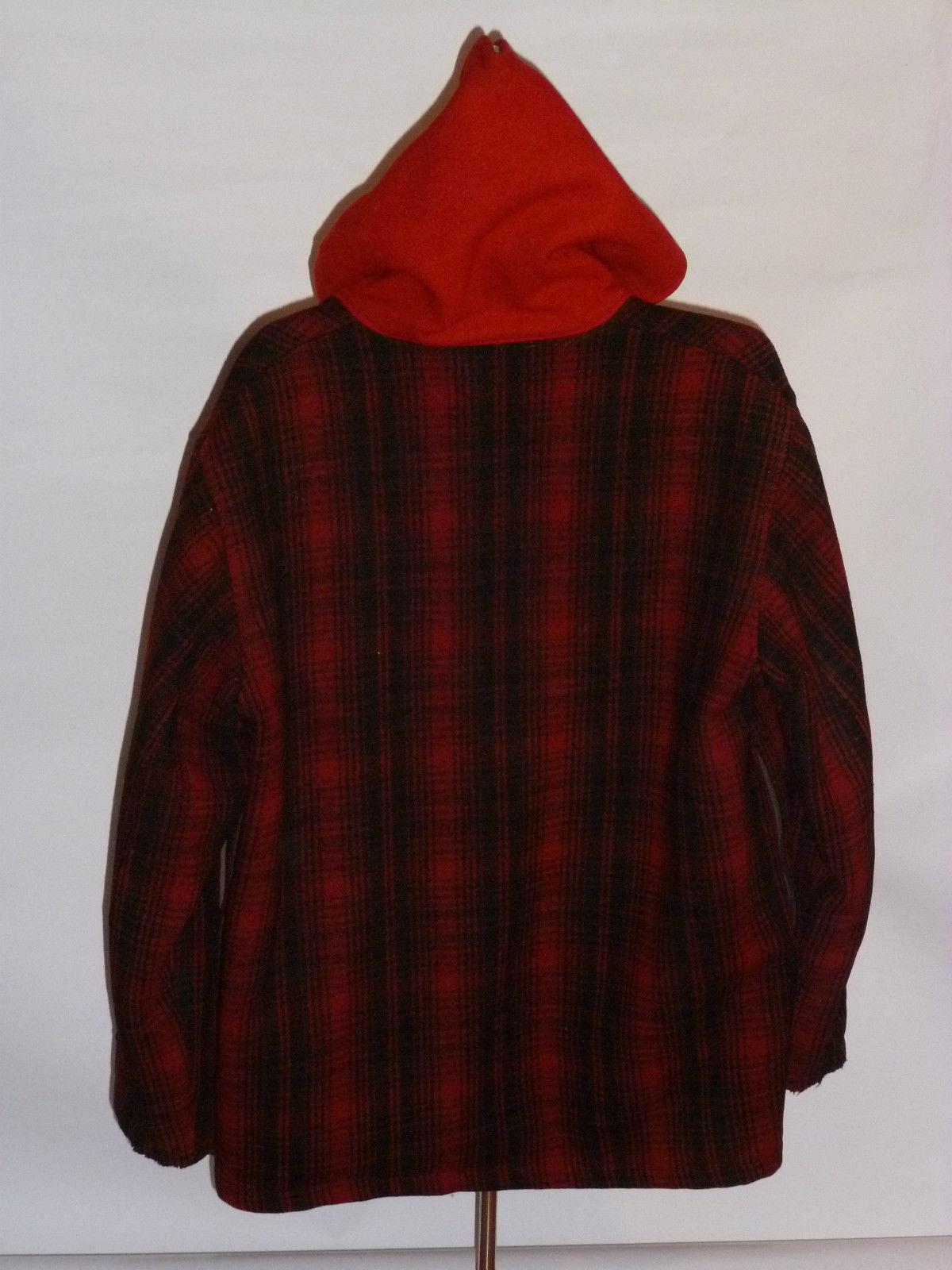 a53d1e320ba82 Vintage Woolrich Plaid Wool Jacket | Classic Vintage Apparel