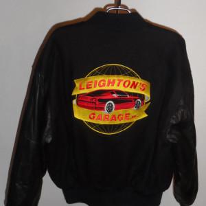 Vintage Reed Hot Rod Racing Varsity Jacket