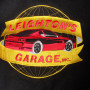 Vintage Reed Hot Rod Racing Varsity Jacket logo