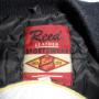 Vintage Reed Hot Rod Racing Varsity Jacket tag