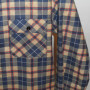 Vintage Sears 1960s - 70s Plaid Work Shirt pocket