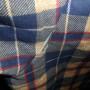 Vintage Sears 1960s - 70s Plaid Work Shirt small tear
