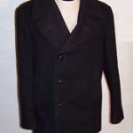 WWII Navy wool peacoat