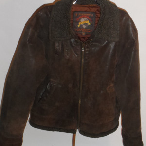 Wilsons Adventure Bound Leather Pilots Jacket