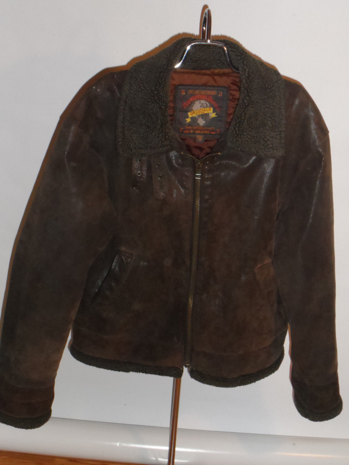 Leather Jacket With Fur Mens