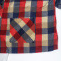 Vintage 1960s Sears Plaid Rockabilly Shirt front pocket