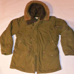 Vintage Abercrombie and Fitch Military Style Parka Coat