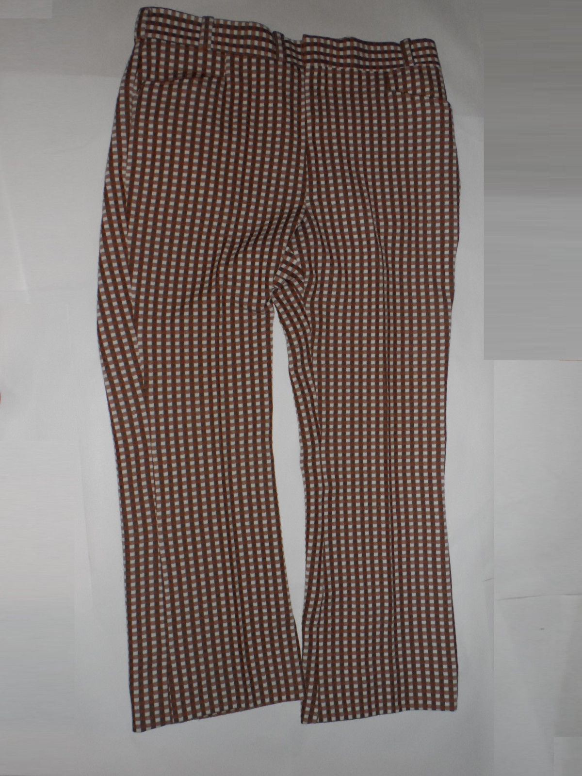 Vintage Mens S Checkered Golf Pants