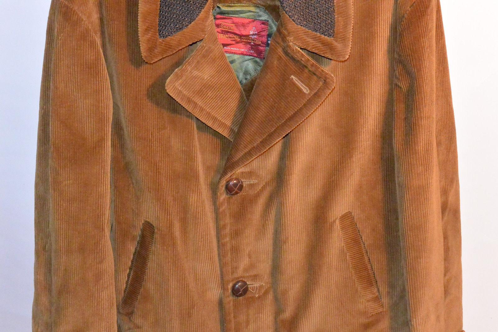Vintage Sears Corduroy Car Coat | Classic Vintage Apparel