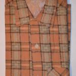 Vintage 1950s Rockabilly Plaid Flannel Shirt