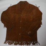 Vintage 1960s Brill Bros Cowhide Motorcycle Jacket