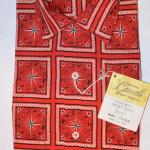 Vintage 1960s Zodiac Design Rockabilly Shirt