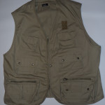 Vintage 1990s Clear and Present Danger Hiking Vest