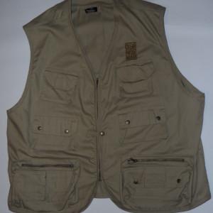Vintage 1990s Clear and Present Danger Hiking Vest