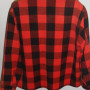 Vintage Mens 1950s LL Bean Plaid Shirt back view