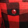 Vintage Mens 1950s LL Bean Plaid Shirt button