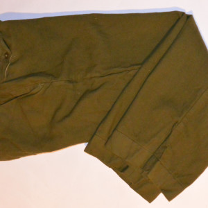 Mens Vintage 1951 Korean War Field Pants
