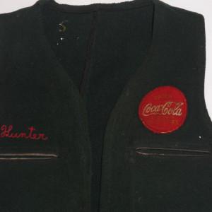Mens Vintage Coca Cola Wool Vest