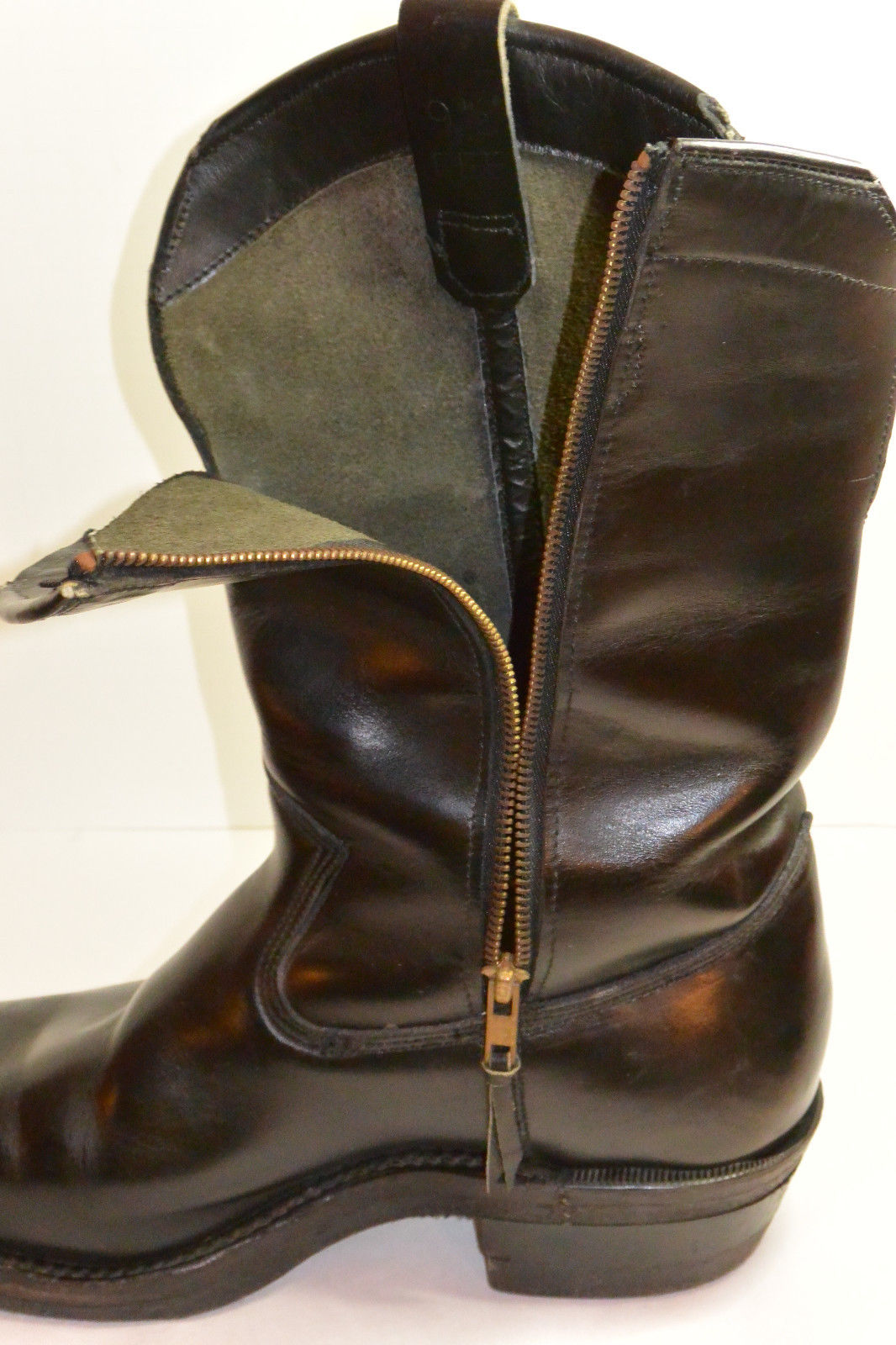 Gallery For gt Mens Vintage Motorcycle Boots