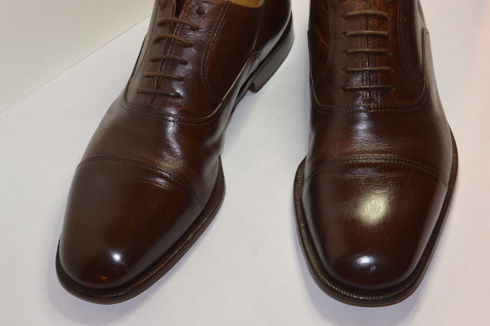 Mens Moreschi Brown Dress Shoes | Classic Vintage Apparel