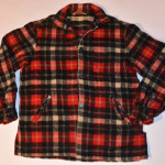 Mens Vintage McGregor Plaid Wool Jacket