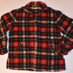 Mens Vintage McGregor Plaid Wool Jacket