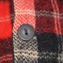 Mens Vintage McGregor Plaid Wool Jacket button
