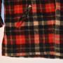 Mens Vintage McGregor Plaid Wool Jacket front bottom view