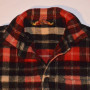 Mens Vintage McGregor Plaid Wool Jacket front close up view