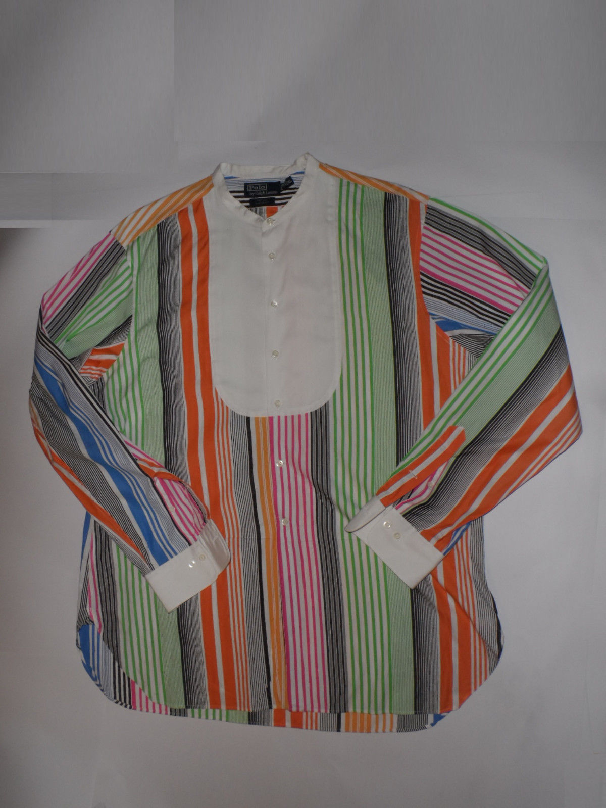 Vintage Ralph Lauren Polo Nathan Men S Striped Dress Shirt